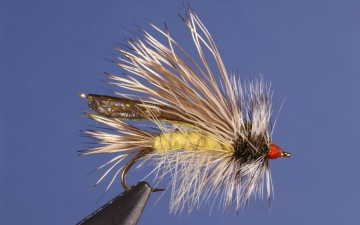 Dry Fly: Yellow Seducer