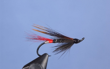 Hairwing: Red Butt Squirrel Tail