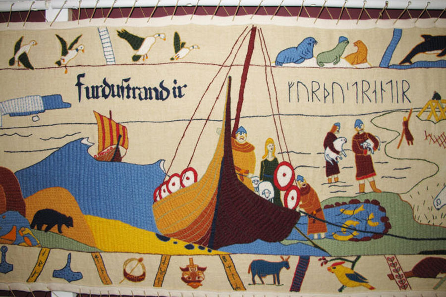 French Shore Tapestry